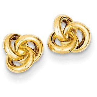 14 Karat Love Knot Earrings