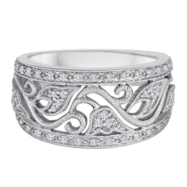 1/4 ct. tw. Diamond Band in 14K White Gold