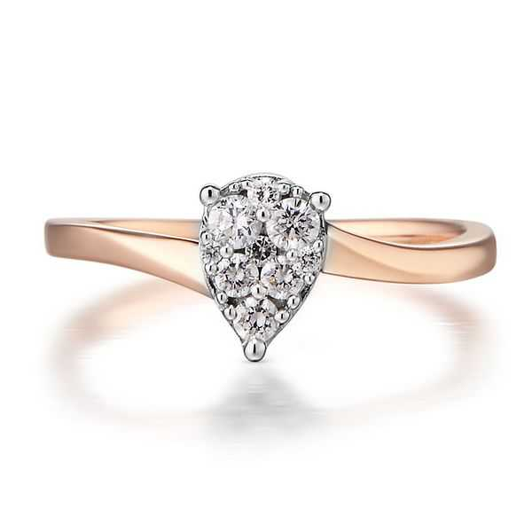 1/4 ct. tw. Diamond Ring in 10K Rose Gold