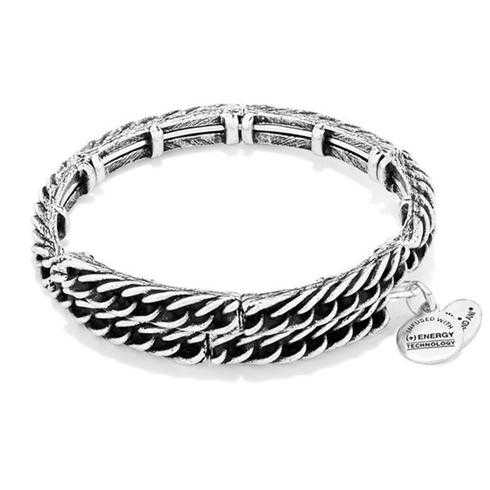 Alex and Ani Eve Metal Wrap - Rafaelian Silver Finish